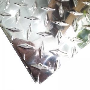 Quality Customized Aluminium Diamond Plate Mirror Surface For Anti Slipping Flooring wholesale