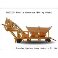 Quality Mobile Concrete Mixing Plant wholesale