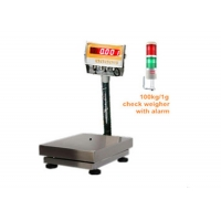 Buy cheap 60kg Relay Output Alarm Checkweigher Scale RS485 Checking Weight Machine from wholesalers