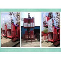 Cheap Relible Electric 2 Motor Rack And Pinion Hoist  For High Rise Building Construction for sale
