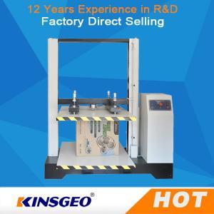 Quality KJ-8210 Paper Box Compression Testing Machine LCD Display 550kg wholesale