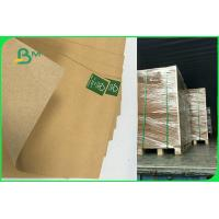 China 110gsm To 220gsm Recycled Brown Kraft Liner Paper Board Sheet FDA EU FSC on sale