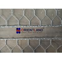 China Hot Dipped Galvanized Flexible Gabion Wall Baskets Reno Mattress For Stream Bed Drain on sale