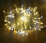 Quality led christmas string lights 70% leds static and 30% leds twinkle wholesale