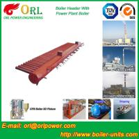 Quality Condensing Gas Boiler Low Loss Headers , Power Station Heating Header Tank wholesale