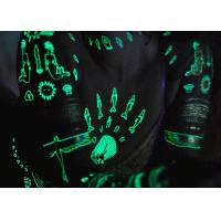 Quality Water Transfer Glow In The Dark Temporary Tattoos Stickers Ultraviolet Blacklight wholesale