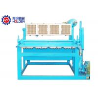 Quality Semi Automatic Shoe Tray Forming Machine Use Waste Paper 1500 PCS wholesale