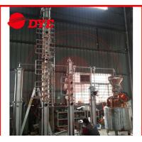 Quality Vodka / Brandy Copper Alcohol Distiller Apparatus , Home Distillery Equipment wholesale