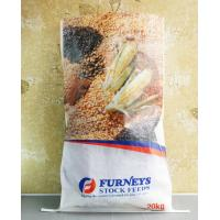 Quality Transparent BOPP PP Woven Feed Bags , Laminated Woven Polypropylene Bags wholesale