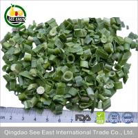 Quality 100% Natural FD vegetable freeze dried leeks for fast food wholesale