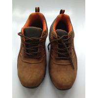 China Brown Heavy Duty Work Shoes Work Safety Shoes For Men / Women on sale