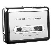 China USB Cassette Capture, Convert Tapes and Cassette to MP3, Portable USB Cassette-to-MP3 Converter Capture on sale