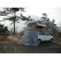 Quality Anti Water Car Roof Mounted Tent With 2M Extendable Aluminum Ladder wholesale