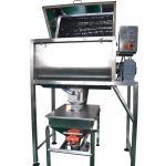 Quality Talcum Powder Double Ribbon Mixer Machine 200L Volume SUS304 Material wholesale