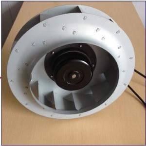 Quality Low Noise EC Motor Backward Curved Blower Ventilation Fan 250mm X 56mm wholesale