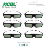 Quality Universal Active 3D Eyewear BT 3D Shutter Glasses For Sharp / Changhong / Skyworth / Konka wholesale