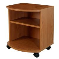 Quality Movable Bedroom Night Stands Particle Board , Contemporary Bedside Tables For Tighter Spaces wholesale