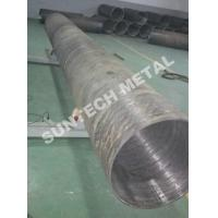 Quality UNS N04400 Nickle Alloy and Carbon Steel Clad Pipe For Chemical Process Equipment wholesale