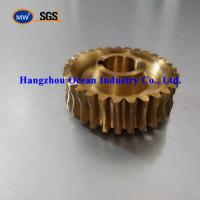 China Bronze Steel Worm Gear For Speed Reducer on sale