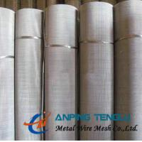 Quality 165Mesh Plain Weave Stainless Steel Wire Cloth for Filtration Industry wholesale