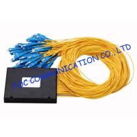 Quality High Return Loss Fiber PLC Splitter 1 × 64 ABS Module Type With SC Connectors wholesale