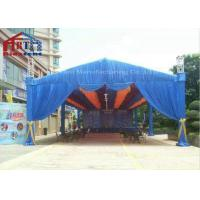 Buy cheap Decorative Aluminium Light Truss , Black Silver Square Moving Head Truss from wholesalers