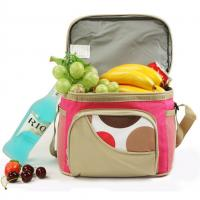 Quality Brown School Kids Lunch Bags / Thermal Personalized Toddler Lunch Bag wholesale