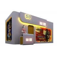 China Amusement Equipment Virtual Reality Game Hydraulic Motion 5D 7D XD Theater on sale