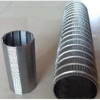 Quality SS Wedge Wire Mesh Screen For Mining And Oilfield Screening Filtration wholesale