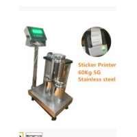 Quality 5G Industrial Platform Weighing Scale Bench 60kg Programmabel Printing wholesale