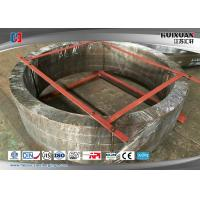 China 16Mn Precision Carbon Steel Forged Flanges Ring Forging Flange 9000MM Diameter on sale