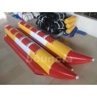 Quality Commercial Grade 10 Person Inflatable Banana Boat Used In Lake wholesale