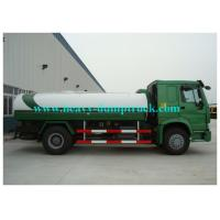 China Sinotruk Howo 10m3 Water Tanker Lorry  4x2 drive with  266HP engine on sale