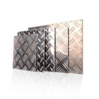 Quality 600 - 2000mm Width Aluminium Checker Plate Five Bar Tread Sheet For Boat Lift wholesale