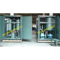 China turbine lube oil filtration plant, oil recycling, oil recovery,dehydration,degasifier,breaking emusification on sale