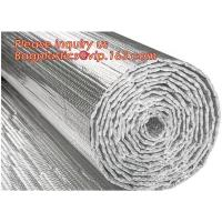Quality Roof/Floor/Wall Heat Insulation Aluminum Foil Bubble Material / Thermal Insulation,Bubble Aluminum Foil Building Insulat wholesale