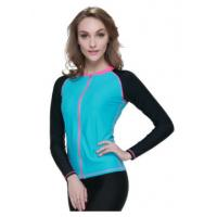 Quality Surfing Jacket Neoprene Tops For Women , 3mm Neoprene T Shirt wholesale