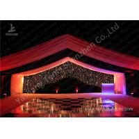 Quality Luxury Marquees For Weddings Decorated with Noble and Gorgeous Linings and Lightings wholesale