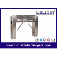 Buy cheap Half Height Tripod Boom Turnstile Barrier Gate Stainless Steel With Emergency from wholesalers