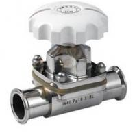 Quality Clamped 316L Stainless Steel Sanitary Diaphragm Valves SMS wholesale
