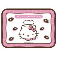 China Hello Kitty Collection 11x9 Non-Stick Silicone Junior Baking Mat, Pink on sale