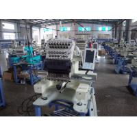 Quality High Speed One Head Embroidery Machine , Cap / T - Shirt Embroidery Machine 540 X 375mm wholesale