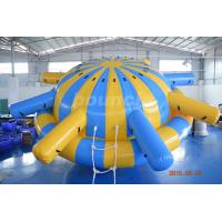 Quality 0.9mm PVC Tarpaulin Inflatable Saturn Rocker For Water Park Games wholesale