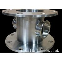 Cheap ASME BPE TP 316L 2 Inch Sanitary Fittings Stainless Steel Valves Matte Polished for sale
