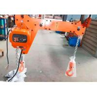 Quality New Electric Chain Hoist 250KG European Type with Double Hook Insulation Grade F for Industrial Lifting wholesale