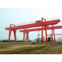Quality ISO Box Type Double Girder Gantry Crane for Petroleum Industry QM450T - 38M - 28M in Plant wholesale