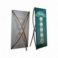 Quality Bamboo X-Banner Stand, Suitable for Indoor Use wholesale