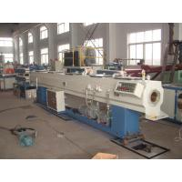 China 20-63mm Plastic PVC Pipe Extrusion Line Machinery With Self Extinguishing on sale