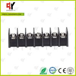 Quality 8.0kg Torque Barrier Terminal Block HQ25CB-7.62 2P - 24P Pole 7.62mm Spacing wholesale