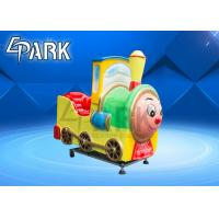 Quality Thomas Coin Operated Kiddie Ride Arcade Games Machines Train Ride On Track wholesale